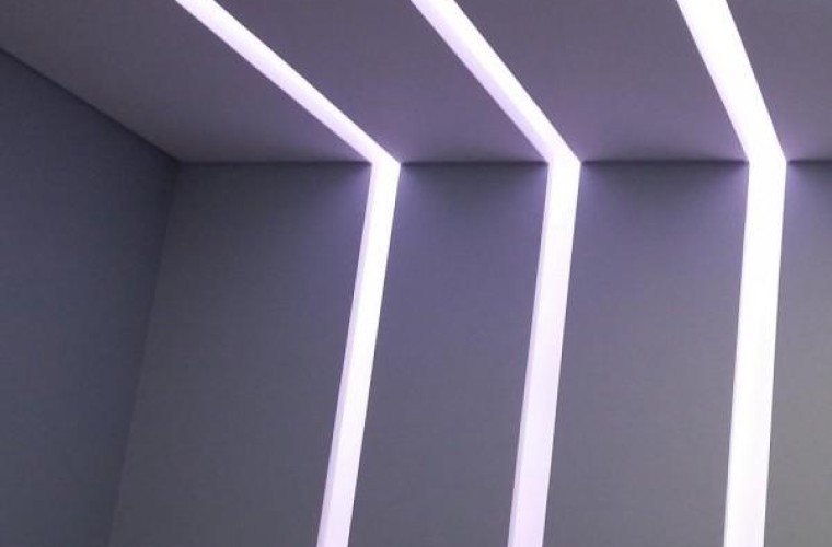 Rasgo de luz em salas de São Caetano do Sul